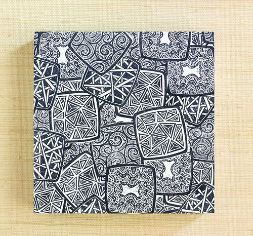 Doodled stamps by Julie Fei-Fan Balzer