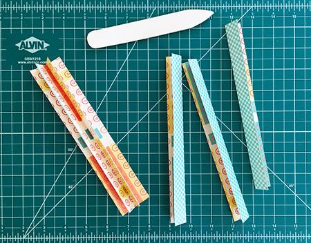 Recycled journal binding