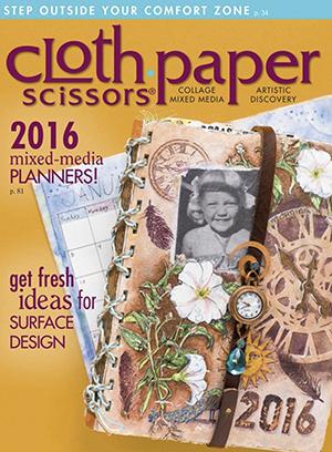 Cloth Paper Scissors Jan Feb 2016