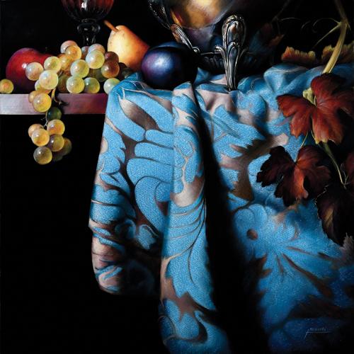 pastel_still life_moscicki_j_festive-table_60x60cm | artistsnetwork.com