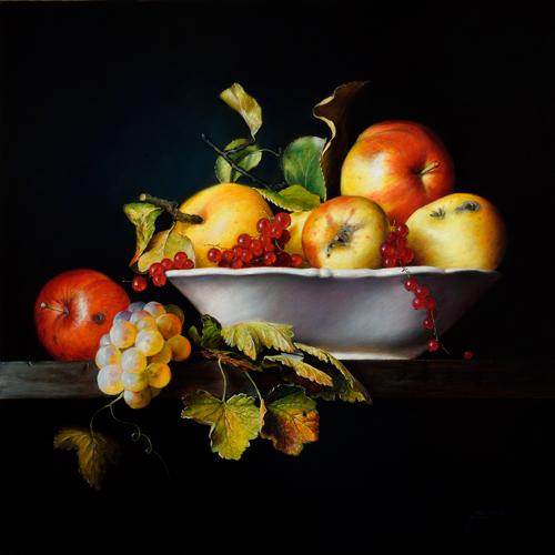 pastel_still_life_moscicki_j_my-garden_50x50cm | artistsnetwork.com