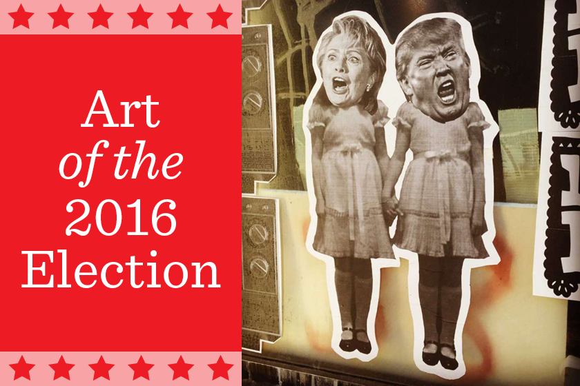 Political art: art of the 2016 election