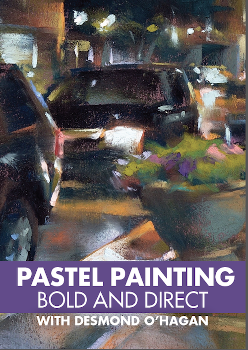 OHagan Pastel Painting Bold and Direct