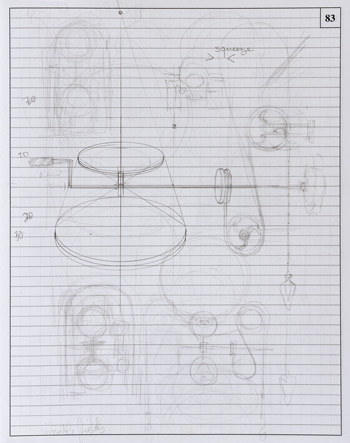Sketches based on paddles - Richard Whitten