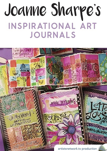 Inspirations Art Journals video with Joanne Sharpe