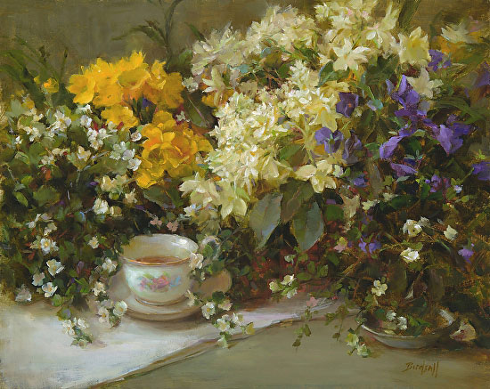 Advice for painting flowers | Stephanie Birdsall, ArtistsNetwork.com