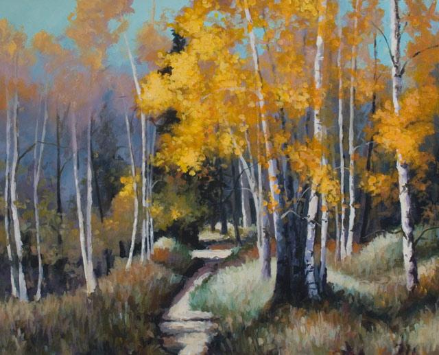 Acrylic painting by John K. Harrell.