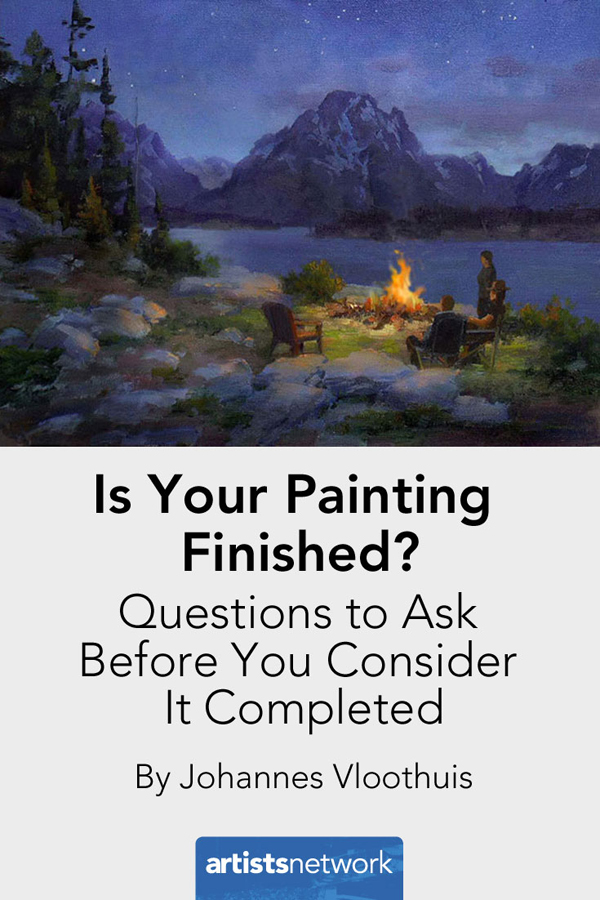 Painting for beginners | Johannes Vloothuis, ArtistsNetwork.com