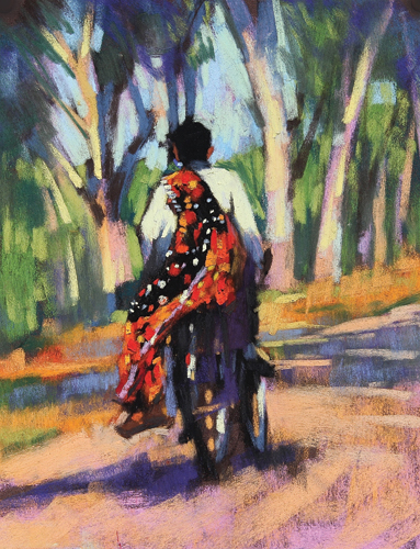 pastel landscape A Lift Home by David Napp | artistsnetwork.com