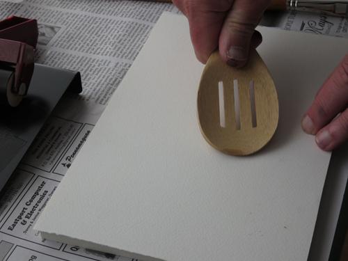 pastel monoprint demo 6 by Michael Chesley Johnson | pastel monoprint