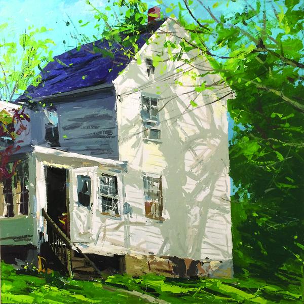 Sunny Morning (acrylic on canvas, 24x24) Will Harmuth, Acrylic Painter