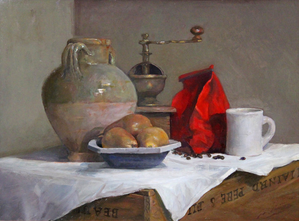 Oil Color Still Life Painting