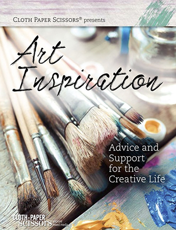 Art Inspiration eMagazine from Cloth Paper Scissors