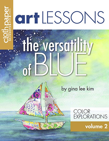 Art Lesson Volume 2: The Versatility of Blue by Gina Lee Kim