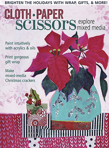 Cloth Paper Scissors November December 2016