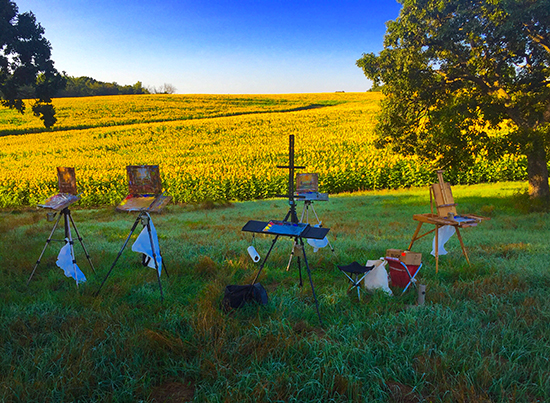A Giant In The Field Artists Network - Artist plants 12 acre field to create a giant artwork inspired by van gogh