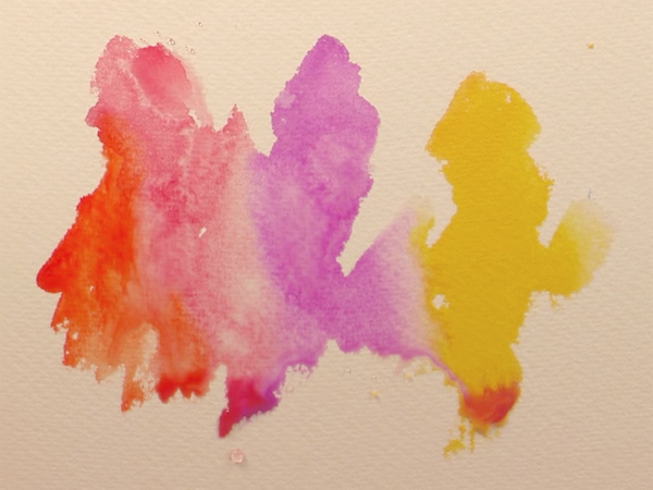 Jean Haines, Watercolor Pigments, Pigment, Watercolor Demonstration, color mixing, Video Blog