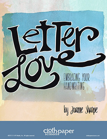 Letter Love by Joanne Sharpe