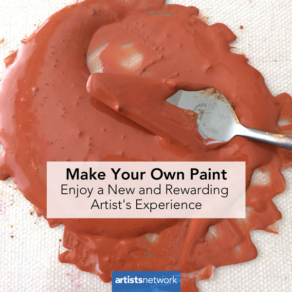 How to Make Your Own Paint | Acrylic Earth Pigments | ArtistsNetwork