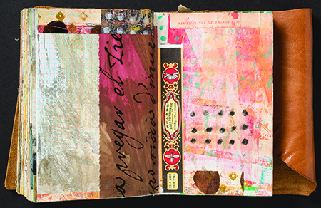 Collage by Robyn McClendon from Cloth Paper Scissors