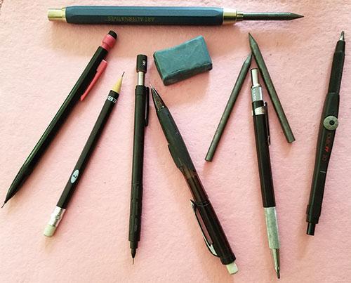 Mechanical Pencils | Artist's Network | best mechanical pencils, Drawing magazine, drawing tips