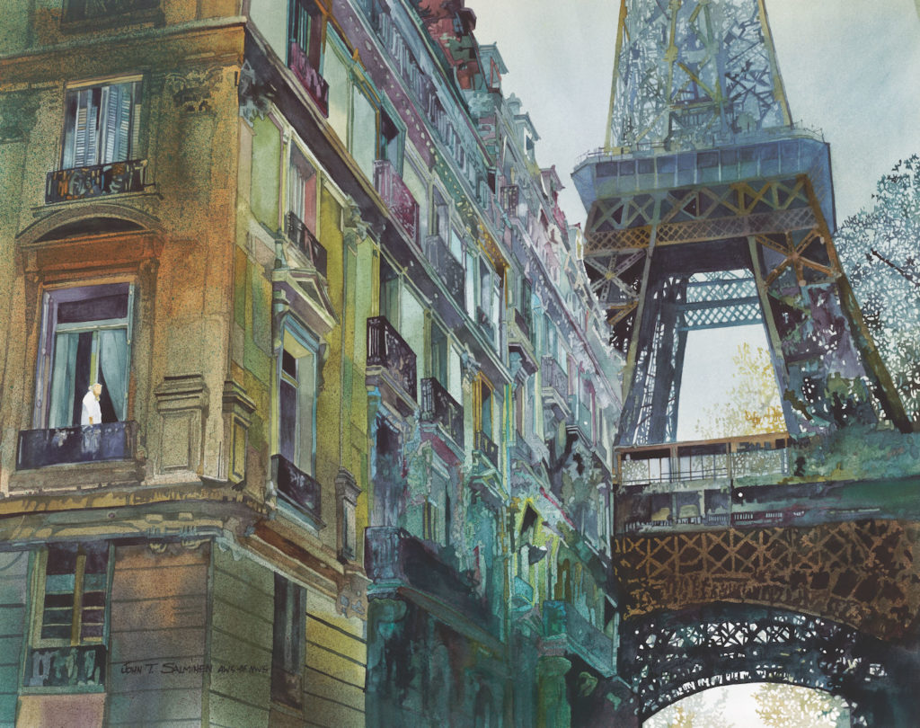 December in Paris by John Salminen | An Exclusive Interview Between John Salminen and Artists Network