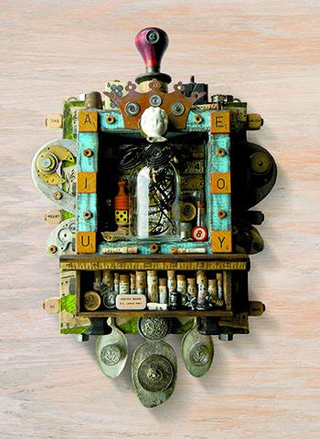 Assemblage by Jen Hardwick