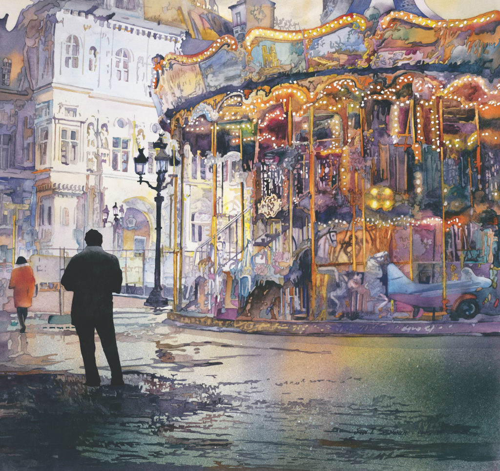 Carrousel de Paris by John Salminen | An Exclusive Interview Between John Salminen and Artists Network