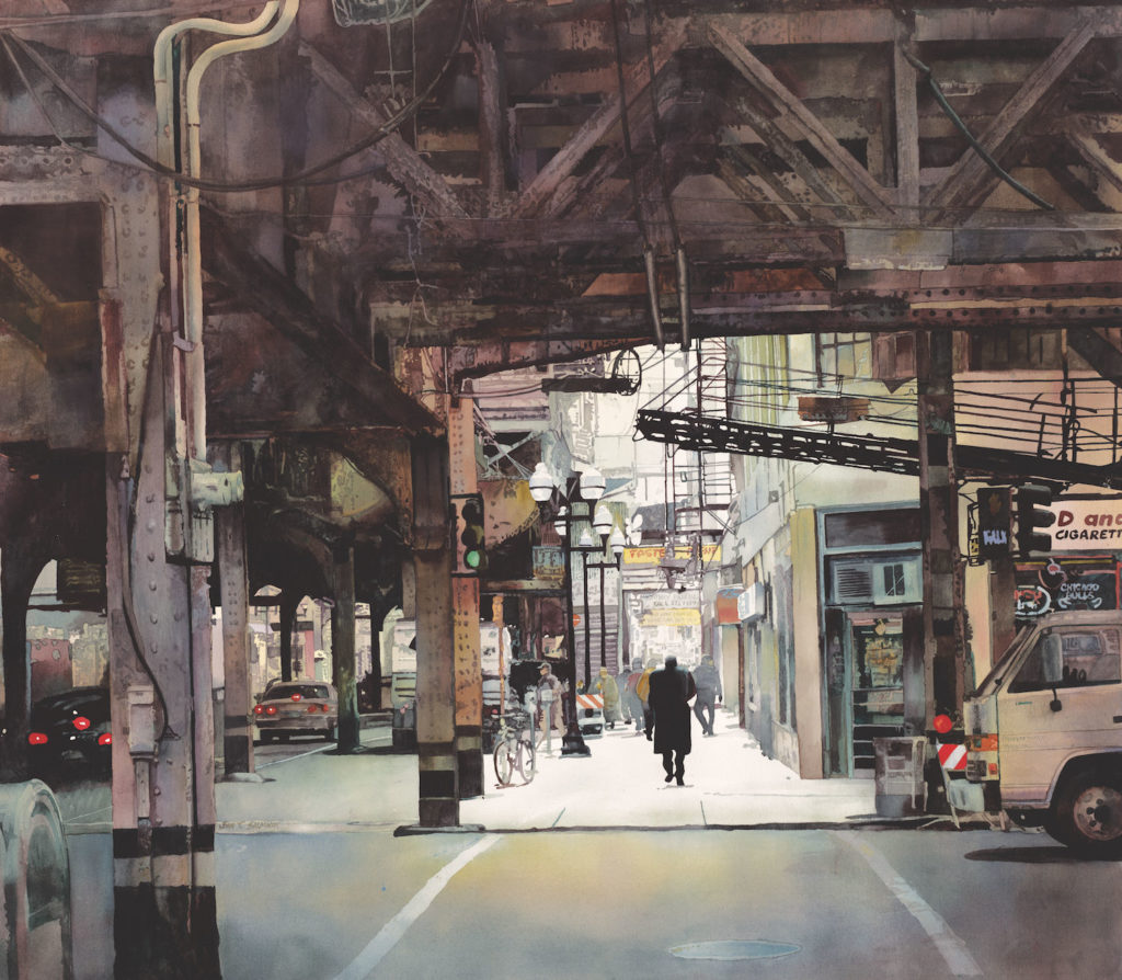 Lake and Wells by John Salminen | An Exclusive Interview Between John Salminen and Artists Network