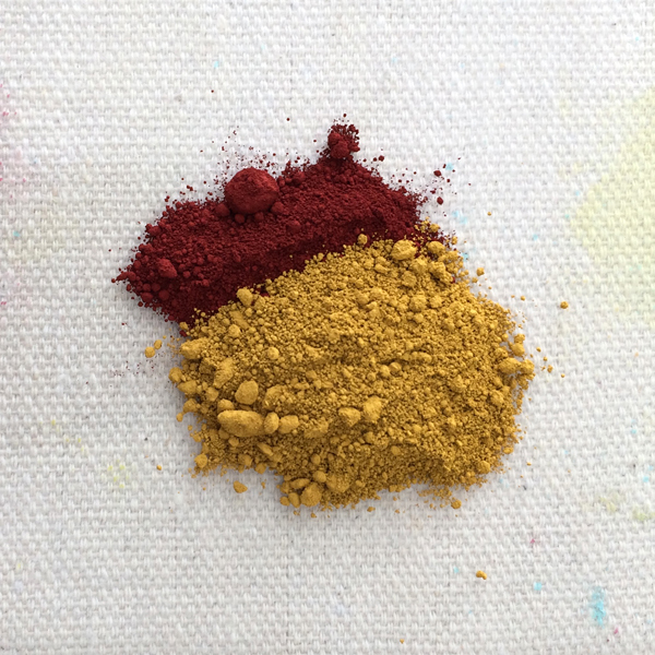 dry paint pigment | How to Make Your Own Paint | Acrylic Earth Pigments | ArtistsNetwork