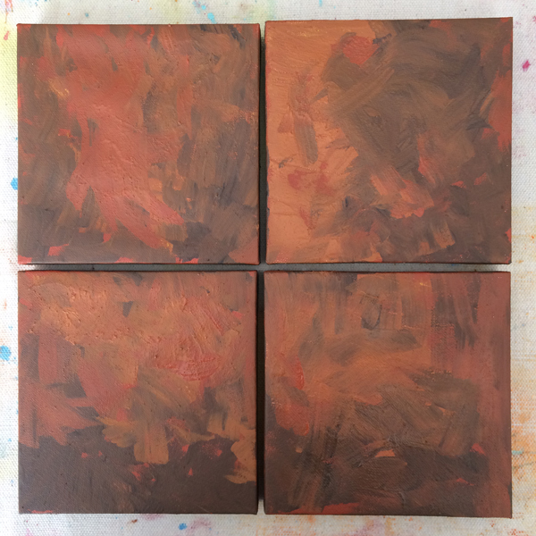make paint underpainting   How to Make Your Own Paint   Acrylic Earth Pigments   ArtistsNetwork