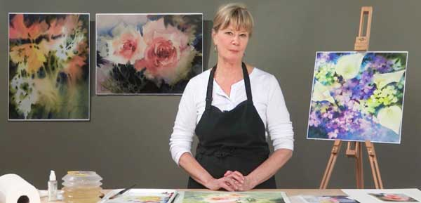 Negative painting with Linda Kemp | ArtistsNetwork.com