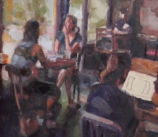 Oil Painting Demonstration with Desmond O'Hagan | ArtistsNetwork.com