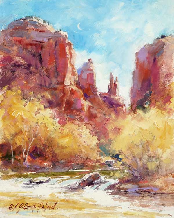 Plein air painting | Julie Gilbert Pollard, ArtistsNetwork.com