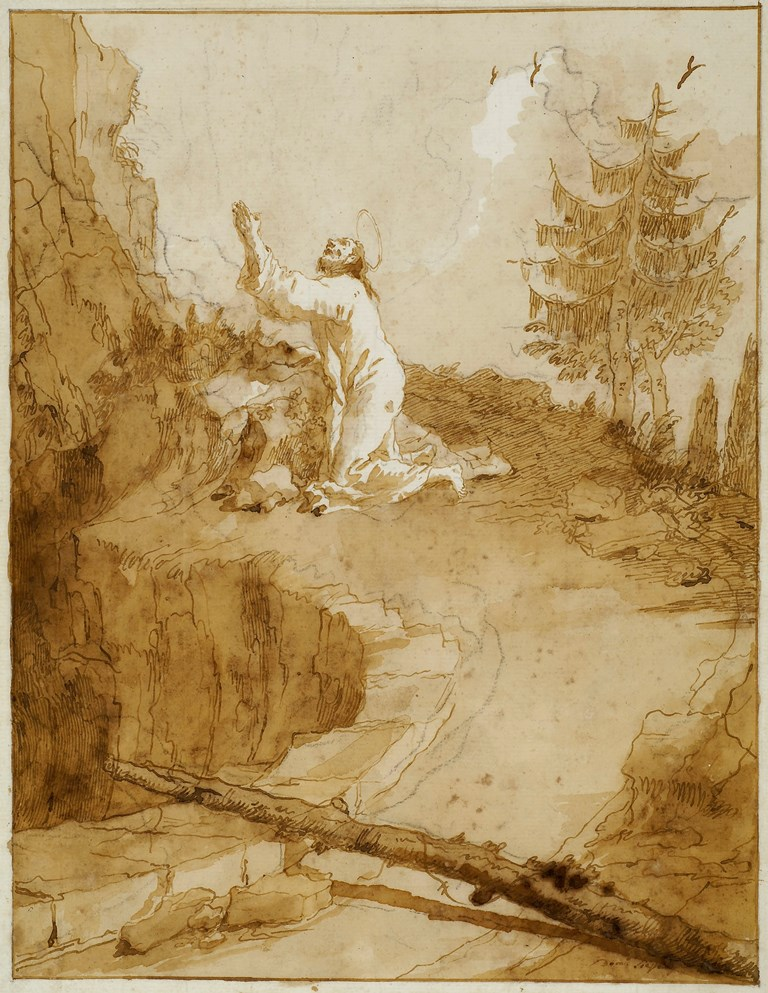 Domenico Tiepolo | Drawing Exhibition | Artist's Network