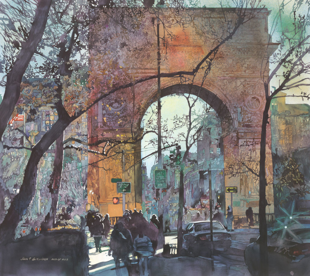 Washington Square by John Salminen | An Exclusive Interview Between John Salminen and Artists Network