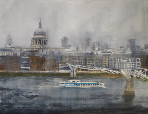 watercolor_landscape_toward_st-_pauls_23x31_nadine_charlsen | artistsnetwork.com