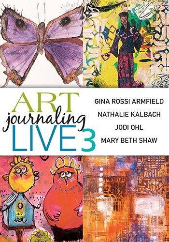 Art Journaling Live 3 video