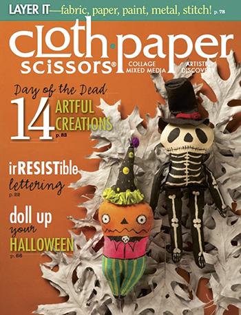 September/October 2014 Cloth Paper Scissors magazine