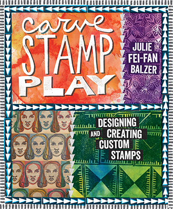 Get tons of stamping, carving, and designing tips in Carve, Stamp, Play