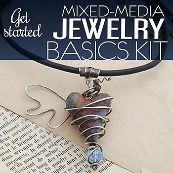 Cloth Paper Scissors Mixed-Media Jewelry Basics Kit