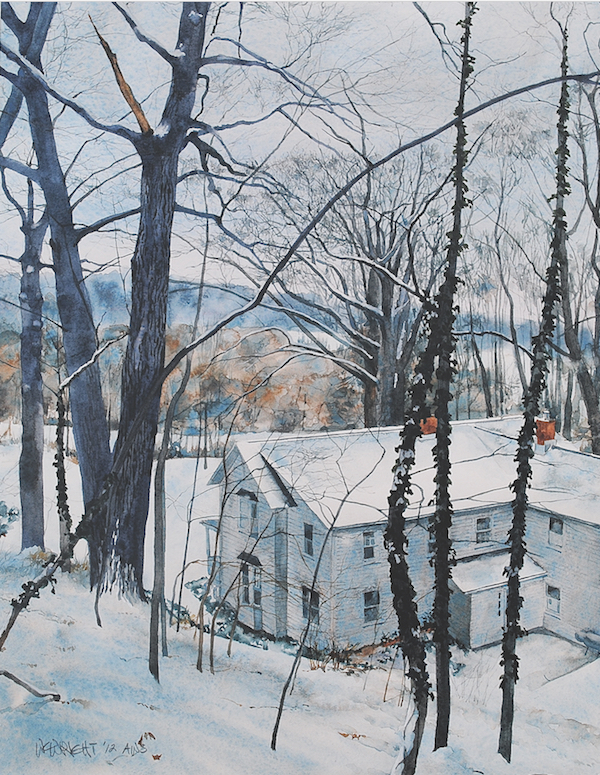 winter watercolors William C. Wright