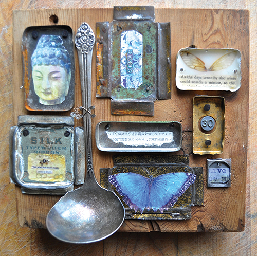 Collage from Storytelling with Collage by Roxanne Evans Stout