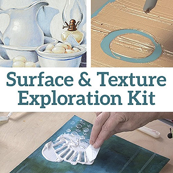 Surface & Texture Exploration Kit from North Light Shop