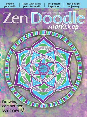 Winter 2016 Zen Doodle Workshop magazine