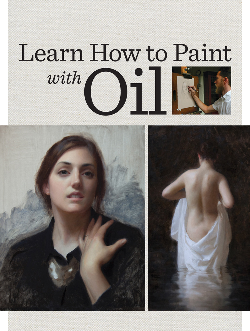 You'll love these oil painting basics perfect for beginners and compiled together in a FREE, downloadable guide!