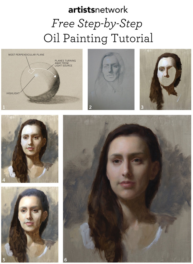 Read these oil painting basics in our free guide.