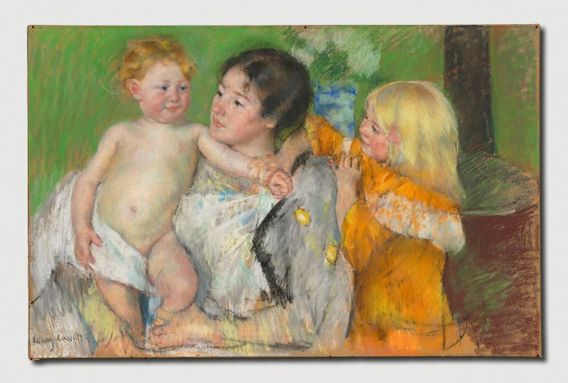 Pastel Drawings | Cleveland Museum of Art | Artist's Network | Mary Cassatt