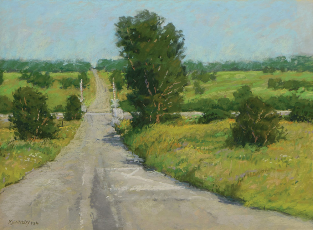 pastel_landscape_crossing_edward_kennedy | artistsnetwork.com
