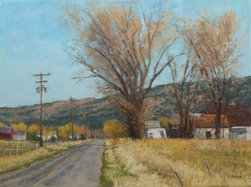 pastel_landscape_heise-road_edward_kennedy | artistsnetwork.com